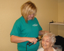 Clinton Manor in Breese, IL Nursing Home Beauty Salon